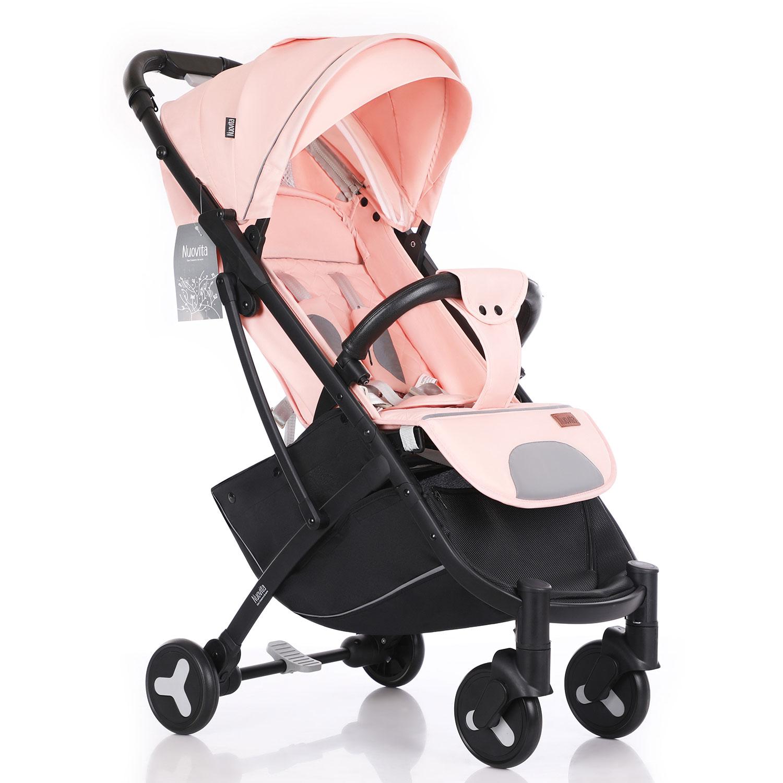 Купить Прогулочная коляска Nuovita Fiato розовый,