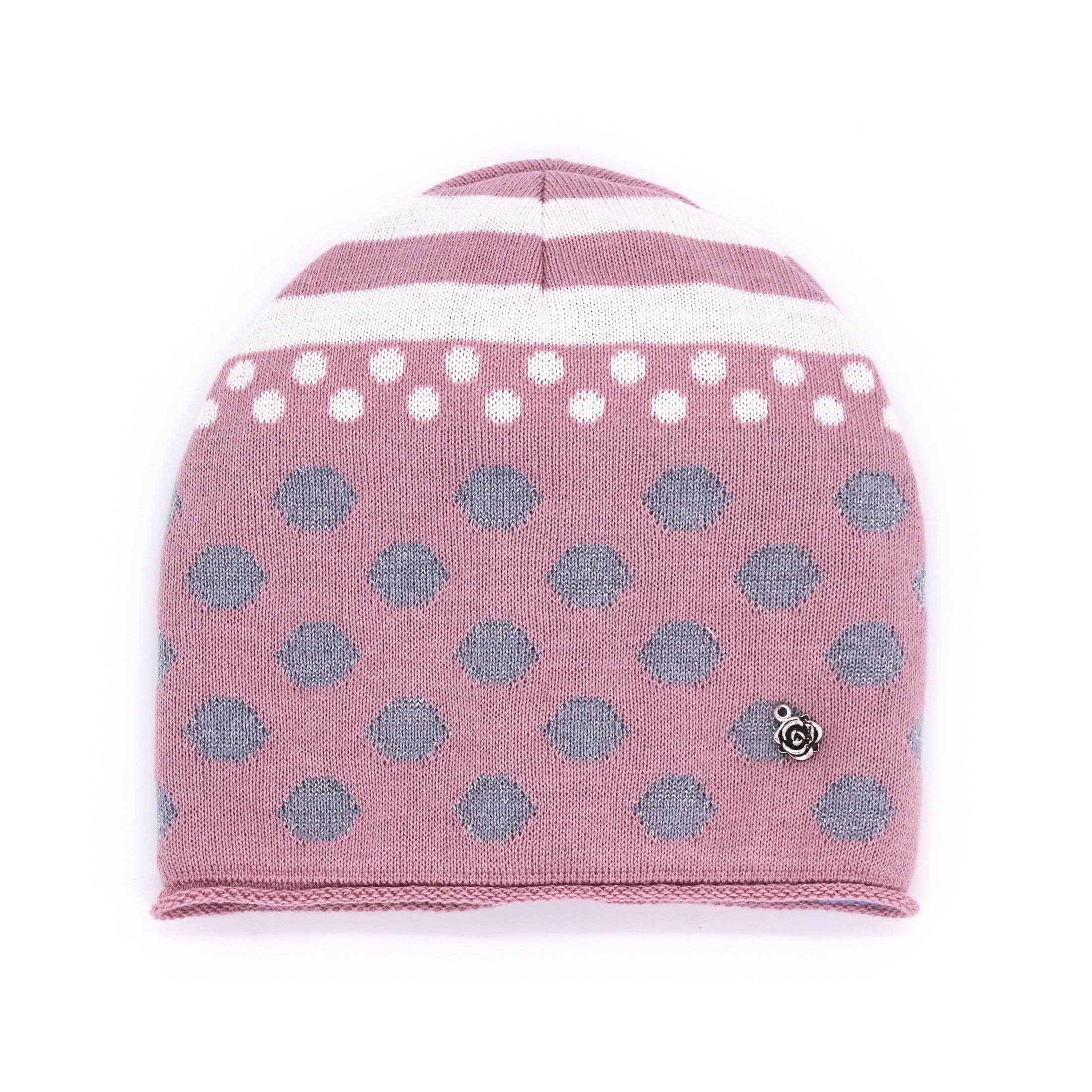 Купить Шапка детская Nais Д200-3989-пудра розовый р.50,