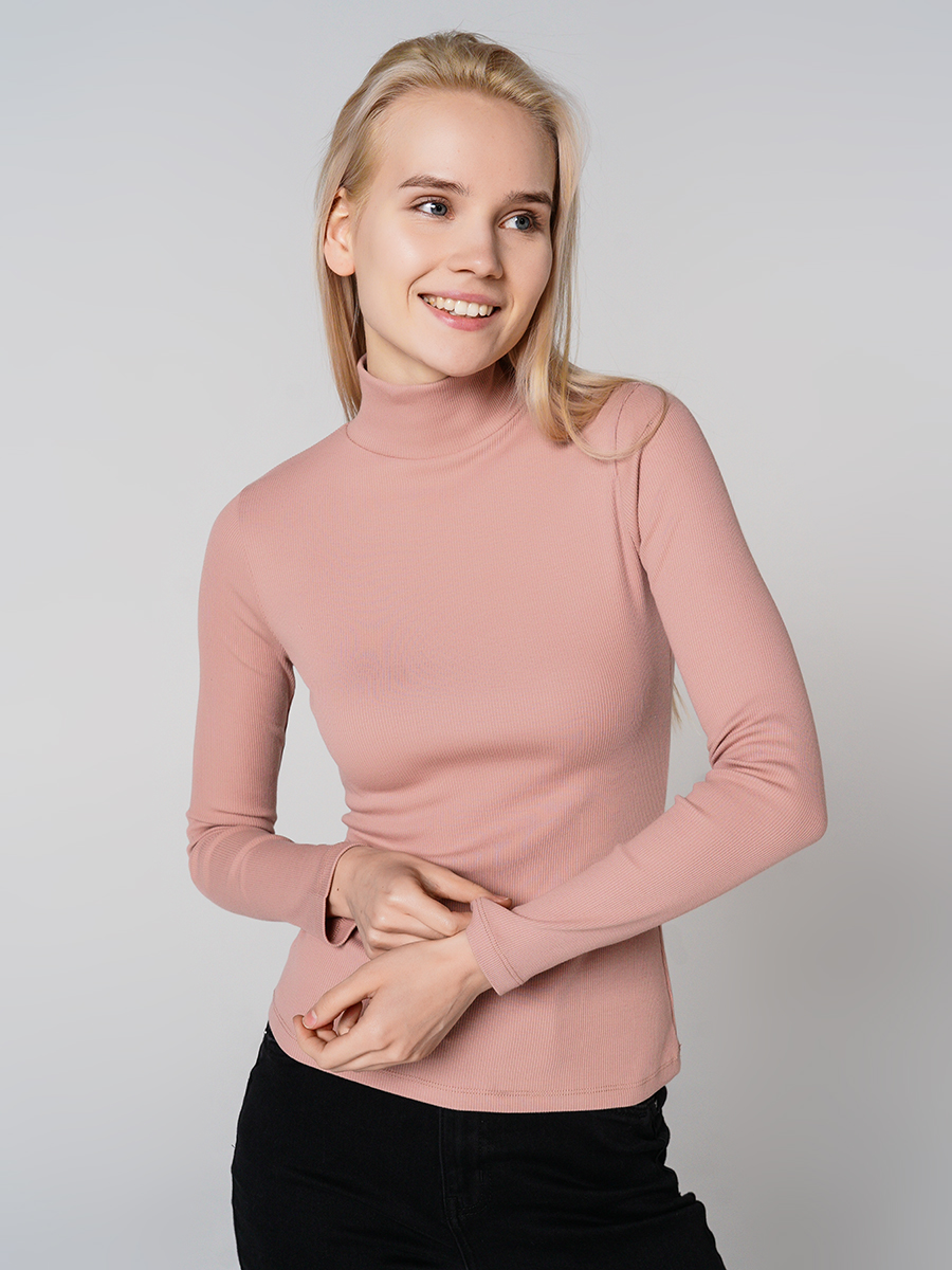 Водолазка женская ТВОЕ 68402 розовая M