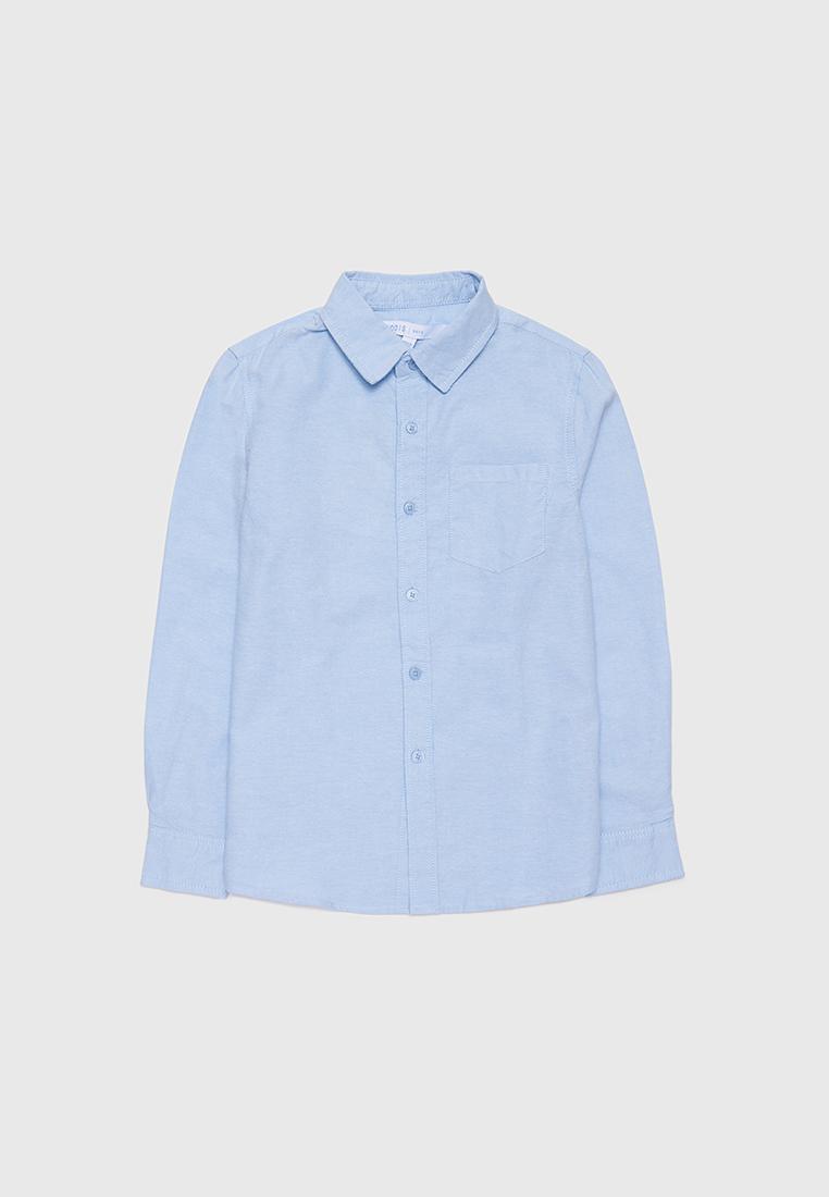 Рубашка детская Modis M212K00005W030 голубой р.152