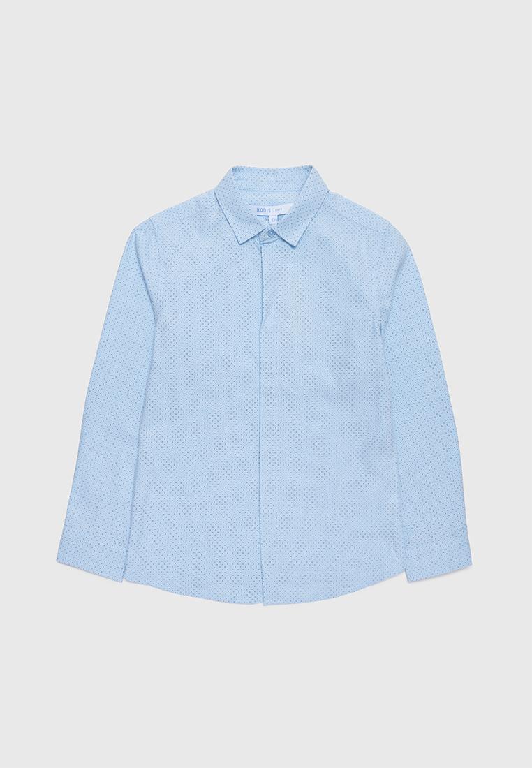 Рубашка детская Modis M212K00050W030 голубой р.152