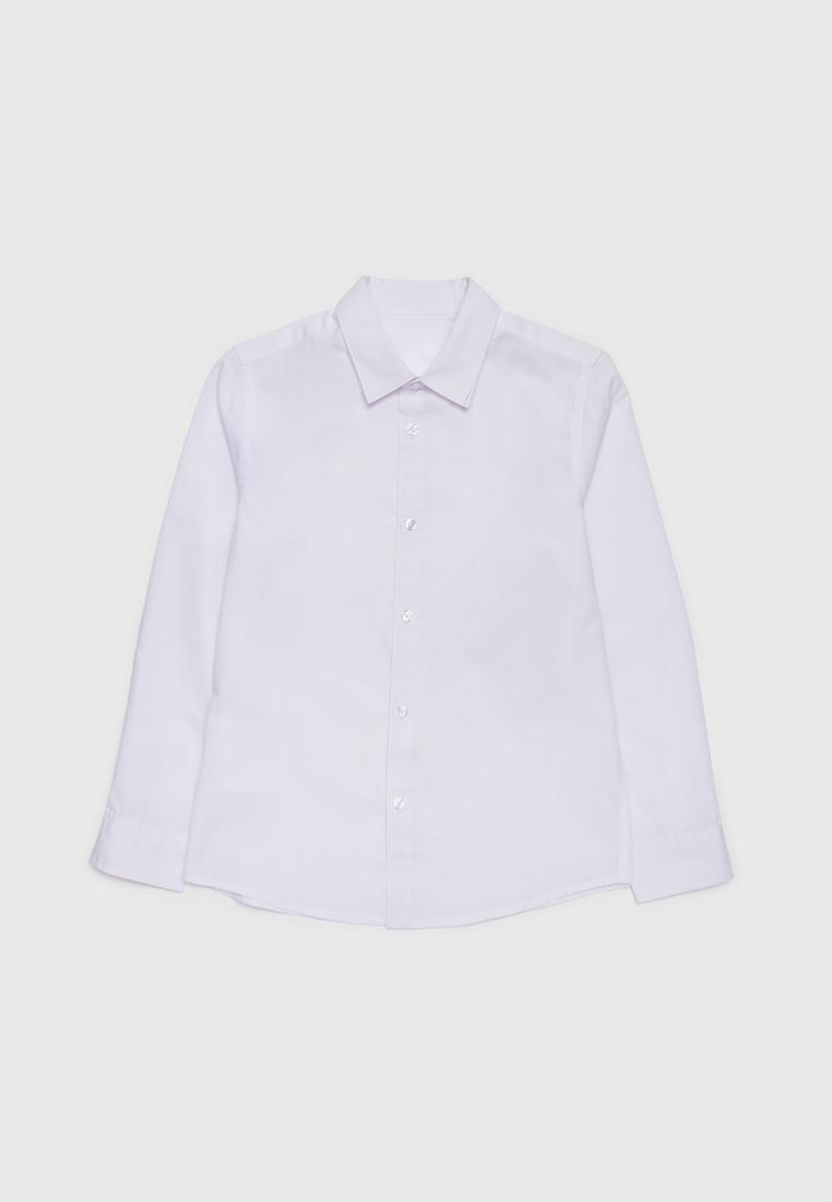 Рубашка детская Modis M212K000031AEG белый р.152