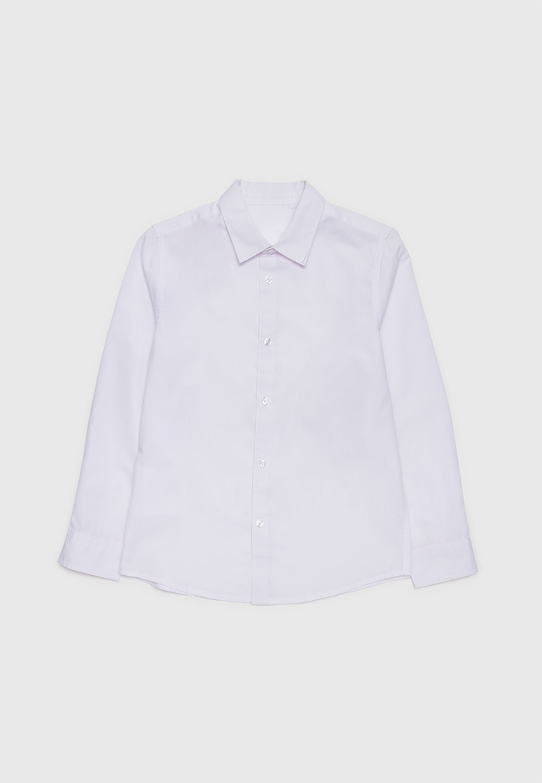 Рубашка детская Modis M212K000031AEG белый р.122