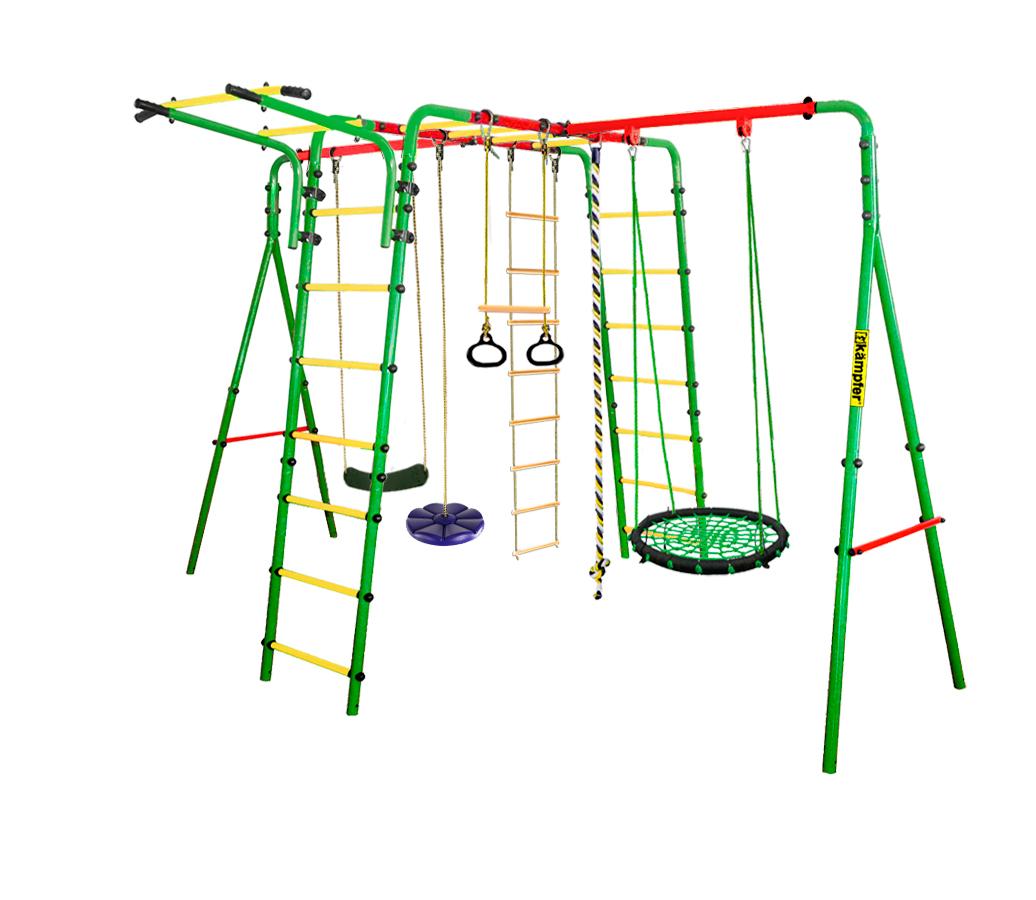Спортивно-игровой комплекс Kampfer Wunder Гнездо малое зел. синяя лиана 00-0000666515