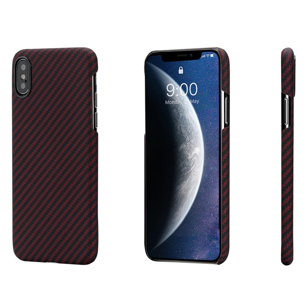 Чехол Pitaka MagCase для iPhone Xs Black/Red