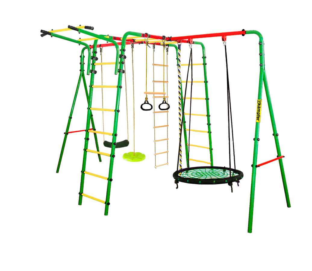 Спортивно-игровой комплекс Kampfer Wunder Гнездо большое зел. зеленая лиана 00-0000666555