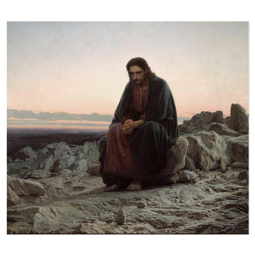 Пазл Стелла Крамской И.Н., Христос в пустыне 1000 эл., серия Третьяковская галерея