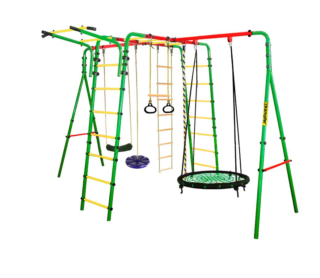 Спортивно-игровой комплекс Kampfer Wunder Гнездо большое зел. синяя лиана 00-000066653