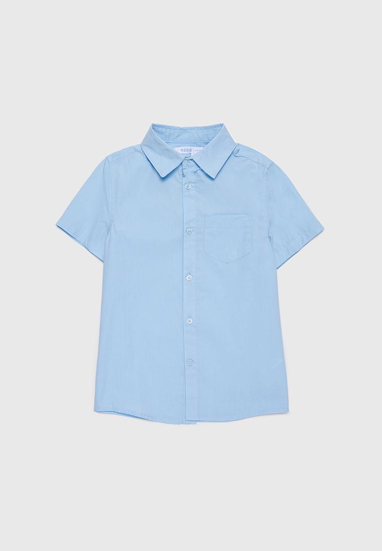 Рубашка детская Modis M212K00008W030 голубой р.128
