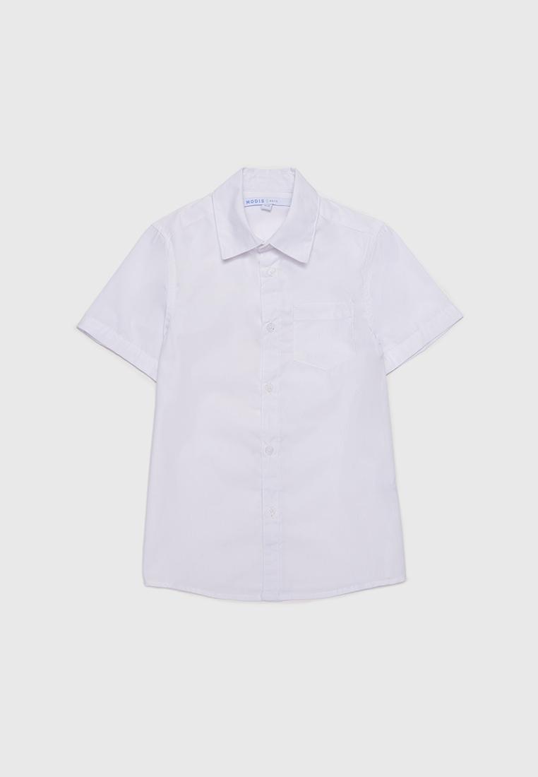 Рубашка детская Modis M212K00008W001 белый р.128