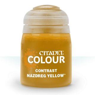 Купить Контрастная краска Games Workshop nazdreg yellow 29-21,