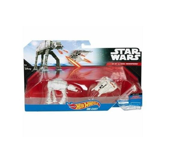 Звездолеты Mattel Snowspeeder Vs At at Звездные
