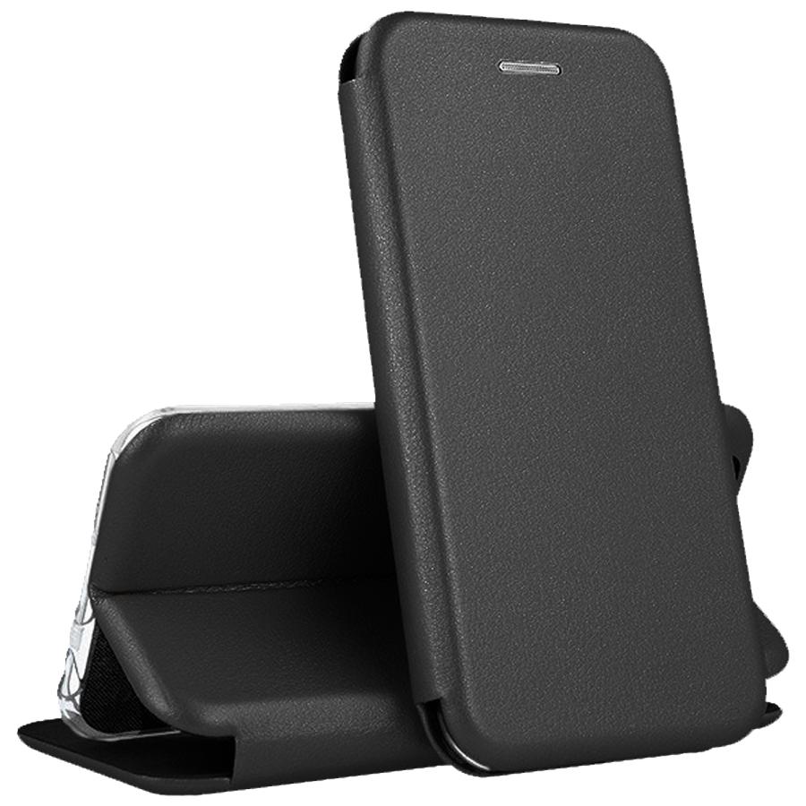 QVATRA / Чехол книжка для Apple iPhone 12 PRO MAX / для Айфон 12 PRO MAX / черный