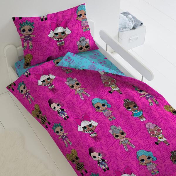 Купить Комплект постельного белья Тейковский ХБК из поплина LOL Surprise! Dolls 1, 5-спальный,