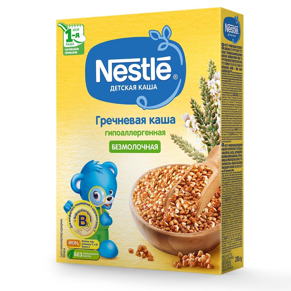 Каша безмолочная Nestle Гречневая гипоаллергенная с 4 мес. 200 г