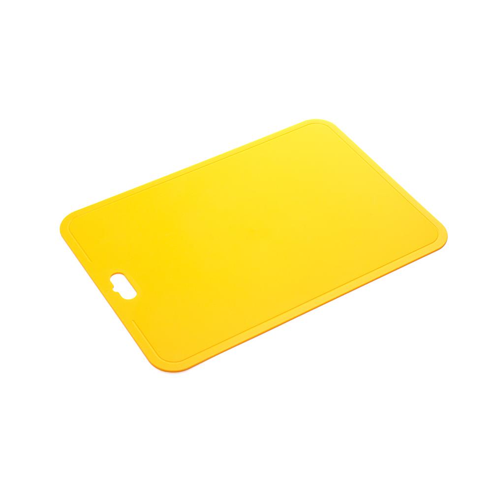 Гибкая разделочная доска, 24х38 см (Цвет: Жёлтый