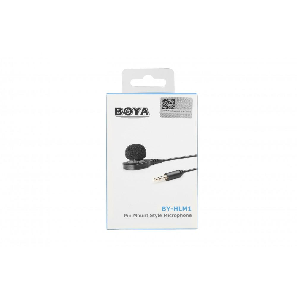 Микрофон Boya BY-HLM1 Black