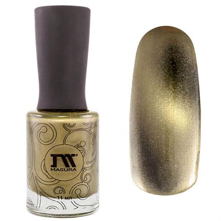 Купить Лак для ногтей Masura Золотой Авантюрин