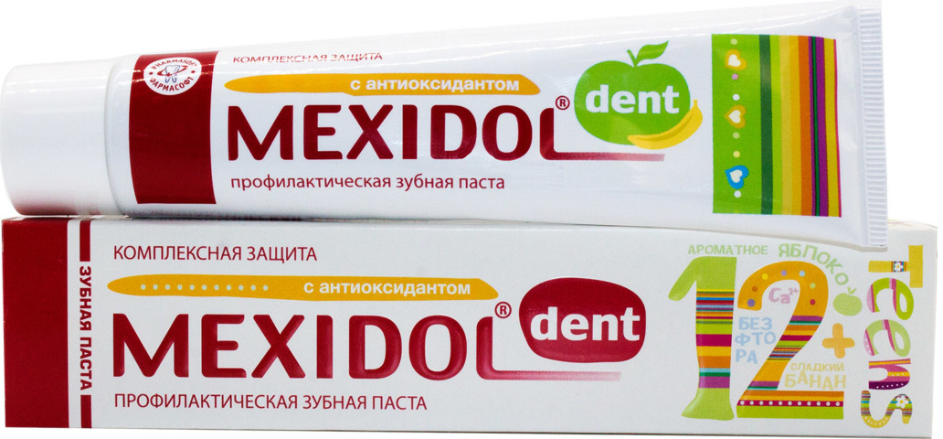 Купить Мексидол Дент Тинс 12+ Зубная паста 65г, Контракт ЛТД