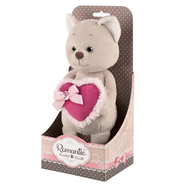 Купить Мягкая игрушка романтичный котик 20 см Maxitoys Luxury Romantic Plush Club,