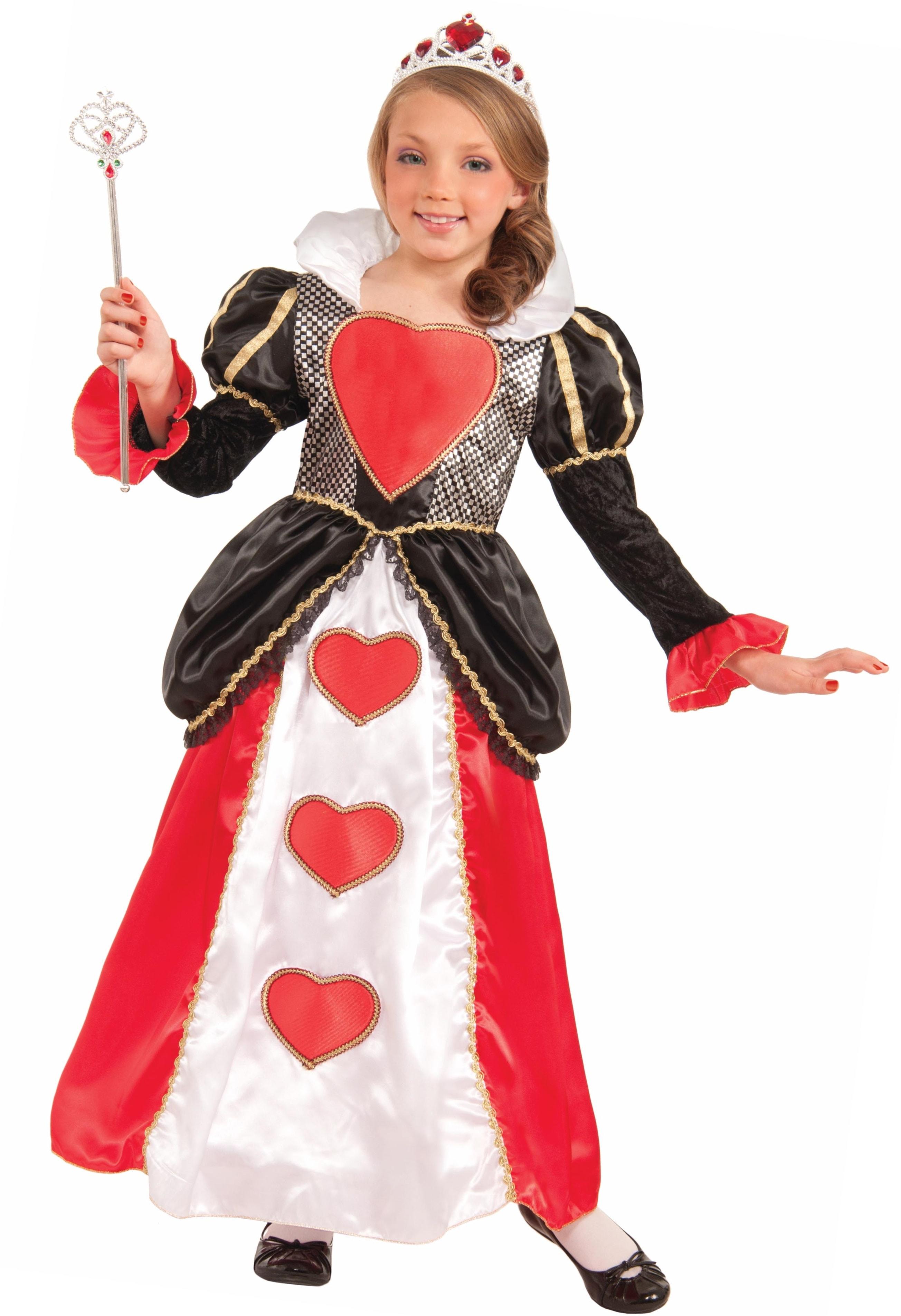 Купить F74210, Костюм Forum Novelties Красная Королева (Алиса В Стране Чудес) Для Девочки L (10-12 лет),