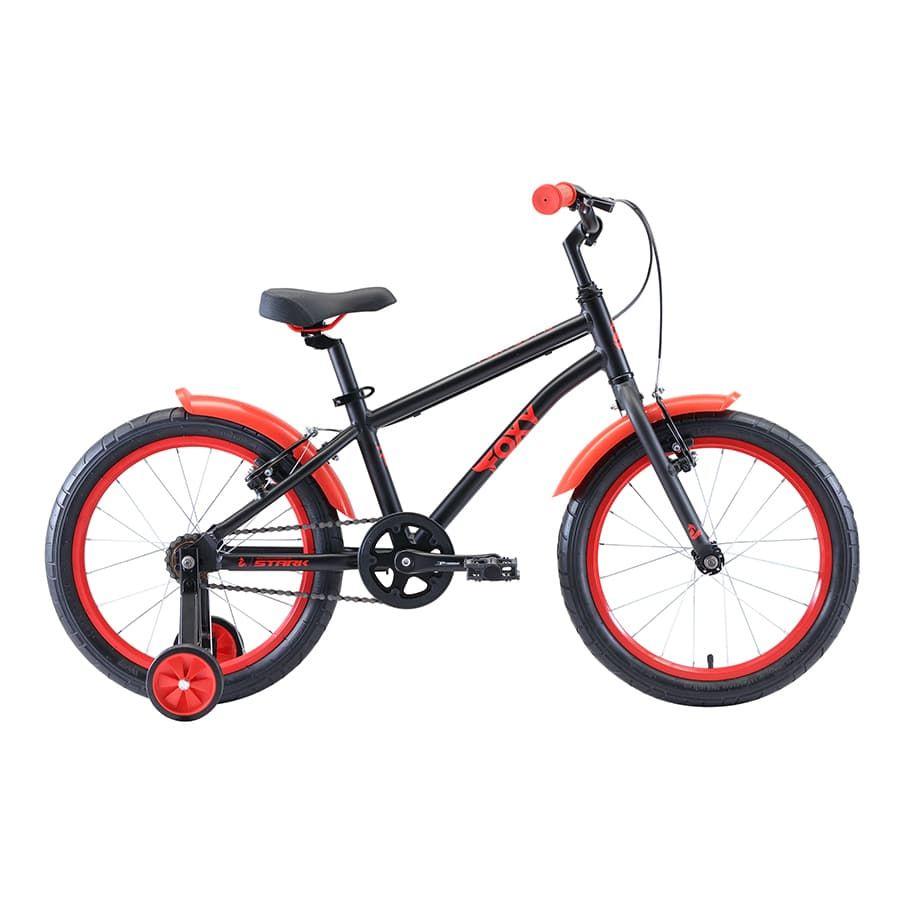 Купить Велосипед Stark'20 Foxy 18 Boy чёрный/красный H000016490,