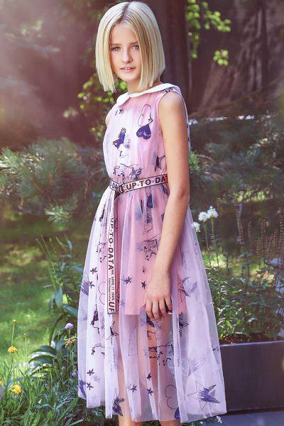 Купить 29526-992, Платье Noble People цв. розовый р.128,