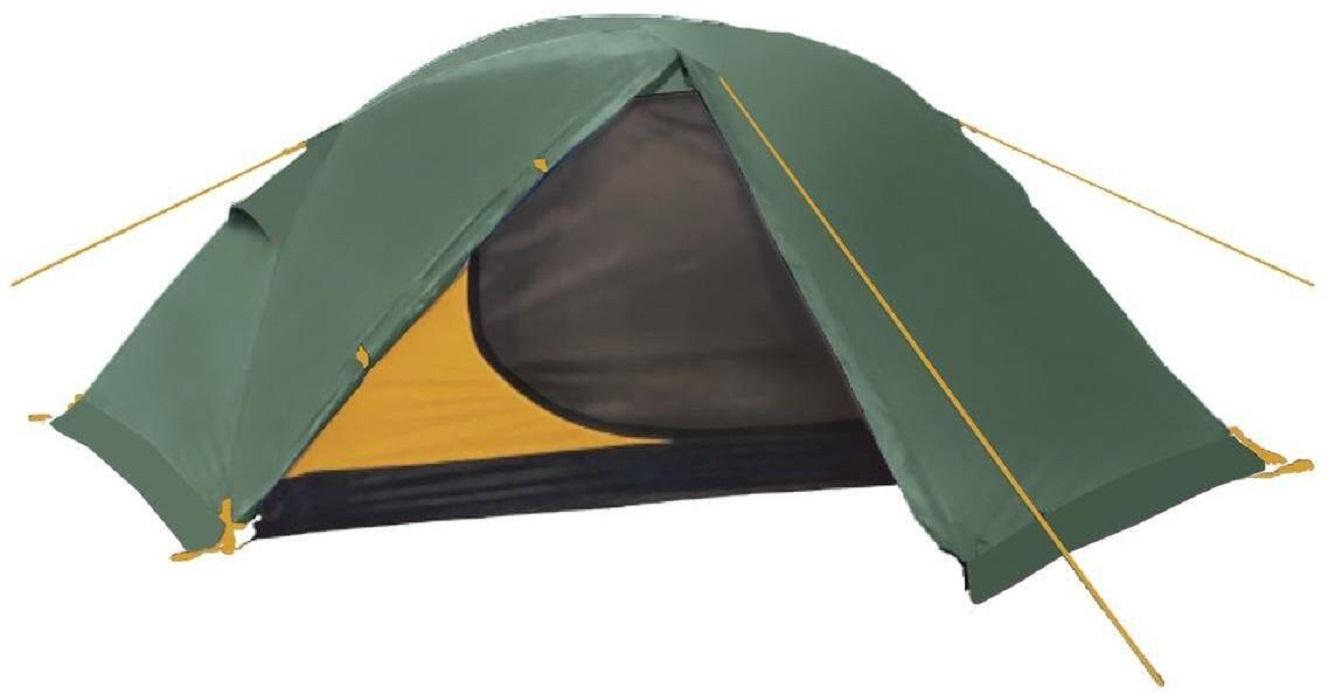 Палатка треккинговая BTrace Spin 2 двухместная зеленая