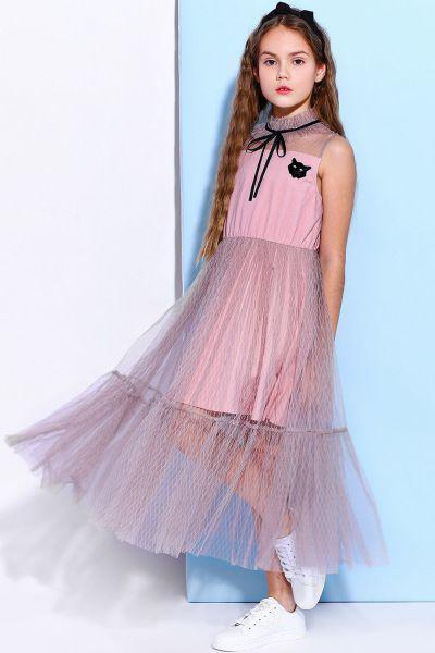 29526-983, Платье Noble People цв. розовый р.146,  - купить со скидкой