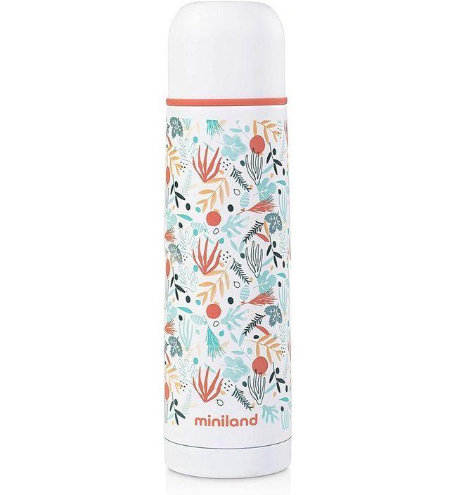 Термос Miniland Silky Thermos 0,5 л белый