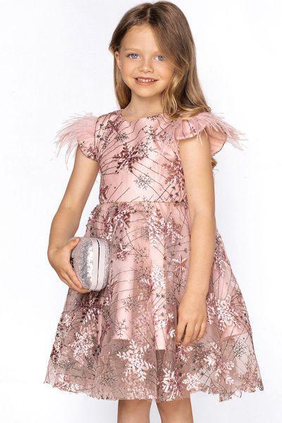 Купить 29526-963, Платье Noble People цв. розовый р.122,