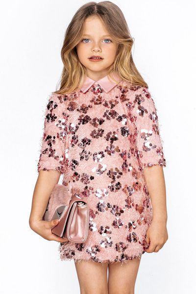 Купить 29526-961, Платье Noble People цв. розовый р.104,
