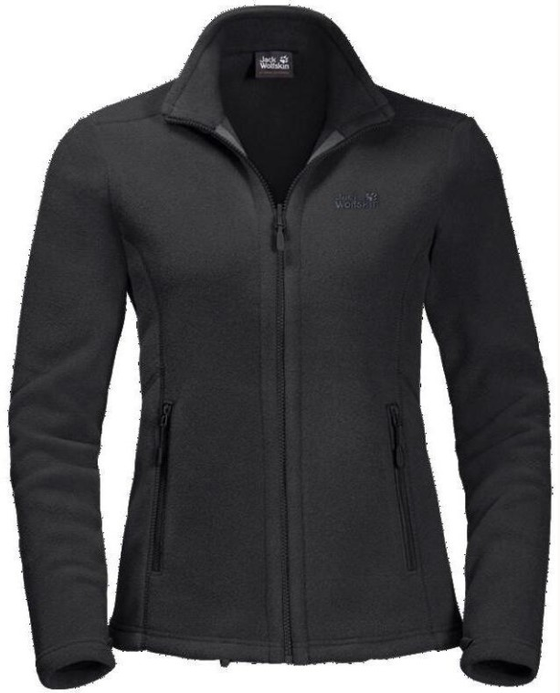 Толстовка Jack Wolfskin Moonrise Jacket black XL.