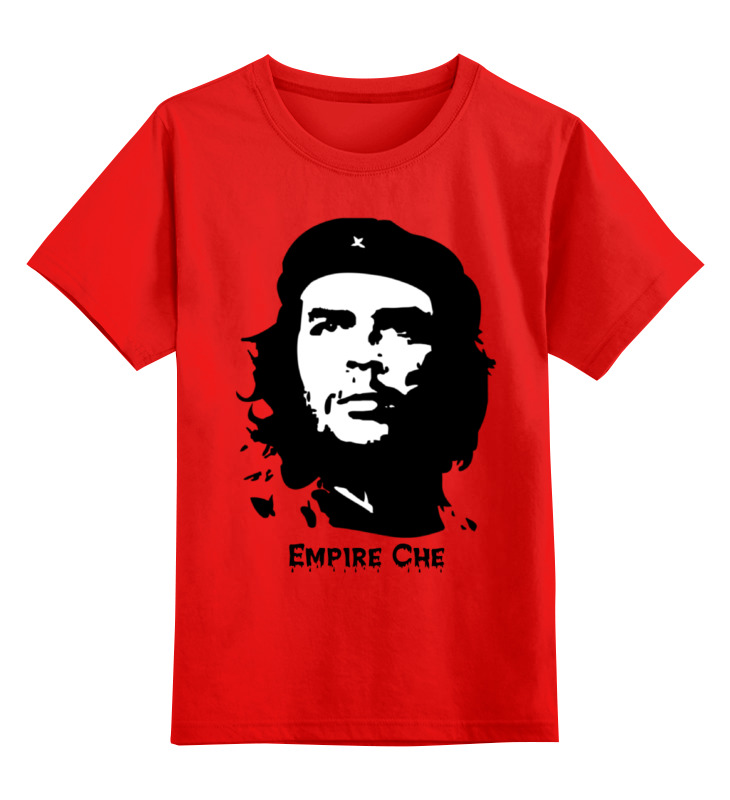 Купить 0000000772392, Детская футболка Printio Empire che цв.красный р.104,