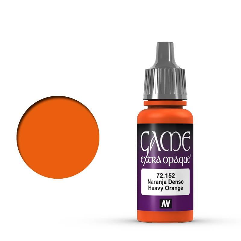 Купить 72.152, Краска для моделизма Vallejo Heavy Orange 17 мл,