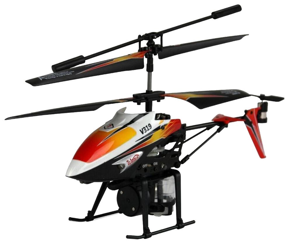 Радиоуправляемый вертолет WL toys с водяной пушкой