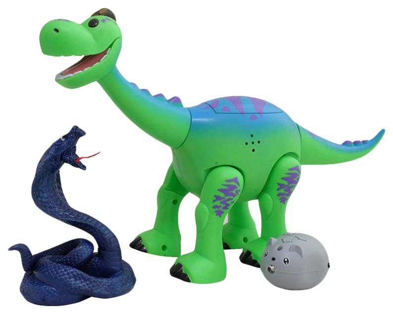 Интерактивная игрушка динозаврик CS Toys Брахиозавр, 29 см