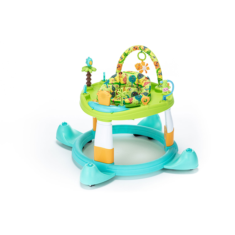 Детские ходунки Nuovita Gioco зелено-бирюзовый
