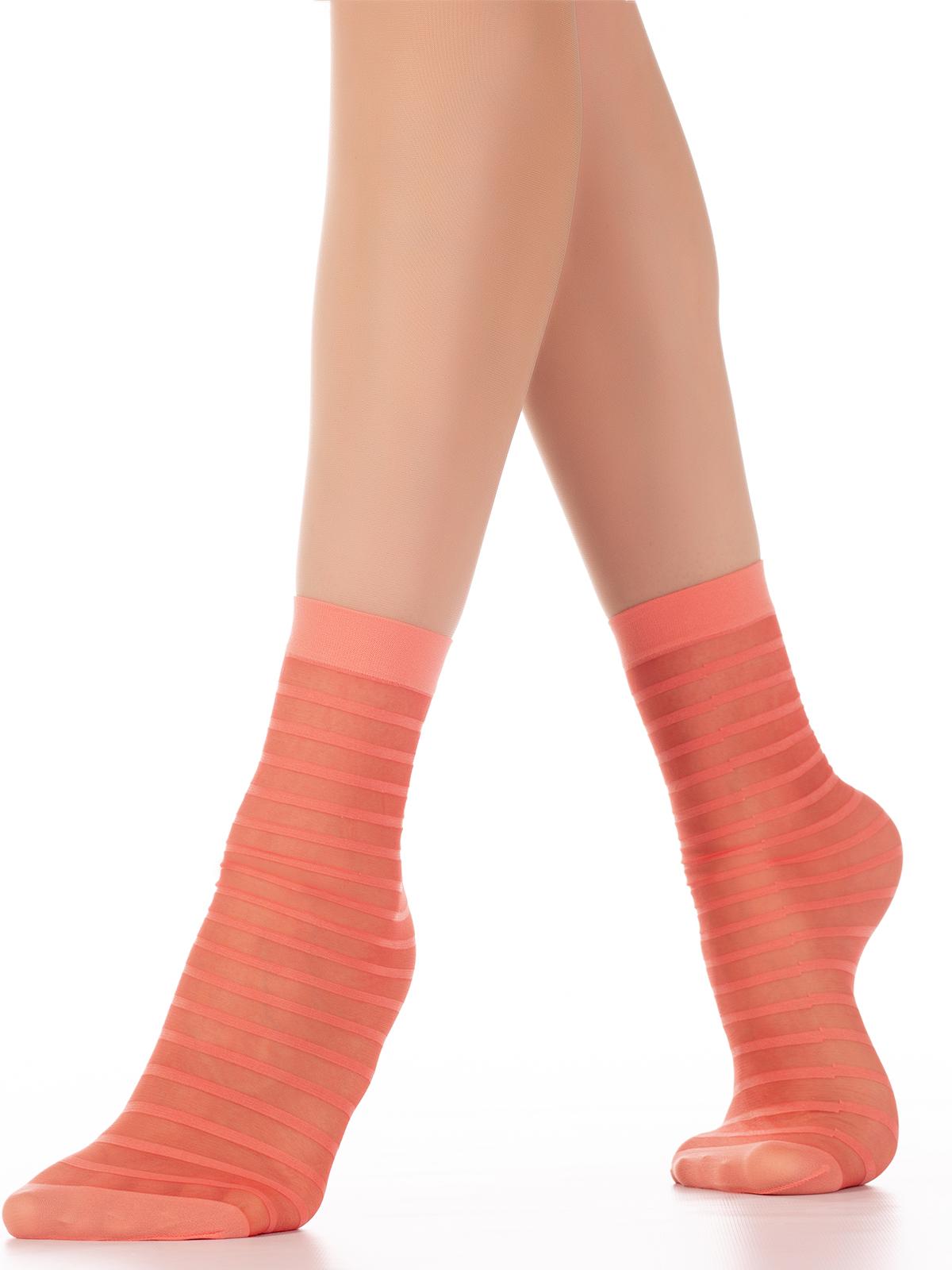 Носки женские MiNiMi FOLLETTO оранжевые one size