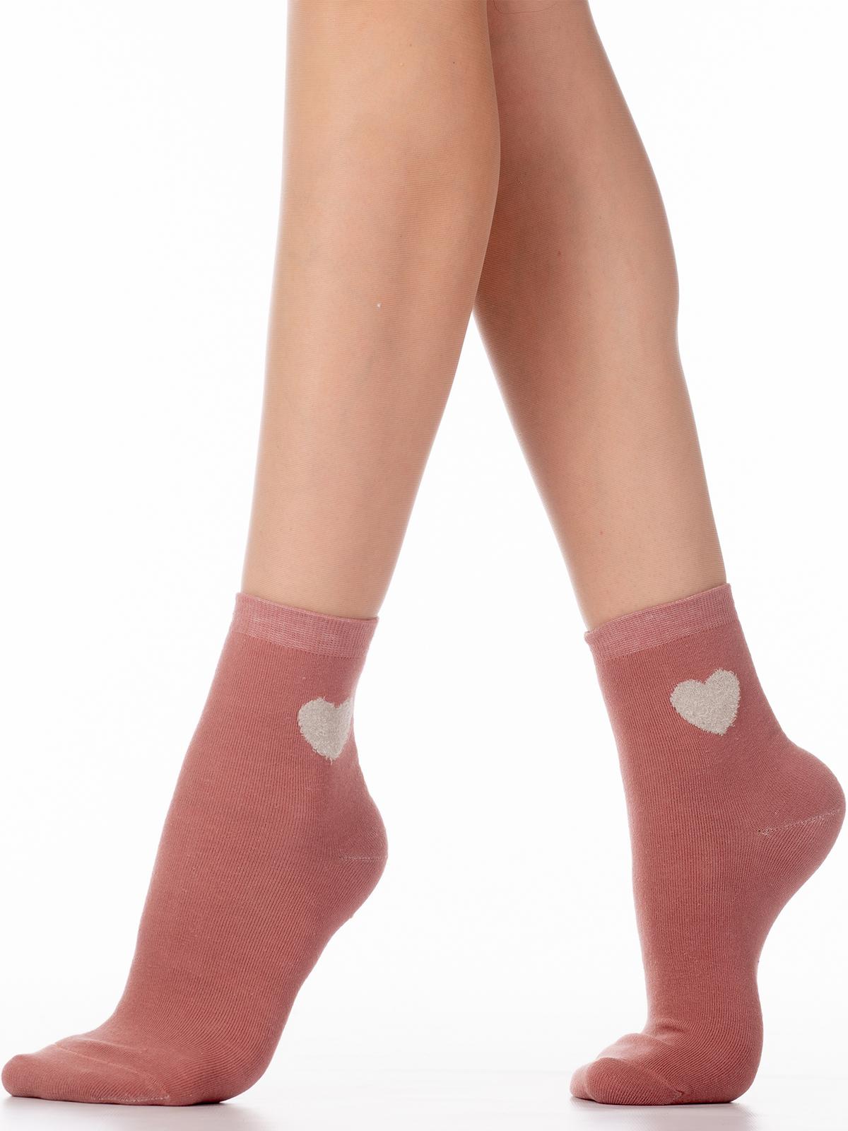 Носки женские Hobby Line HOBBY 3Д78 розовые 36-40