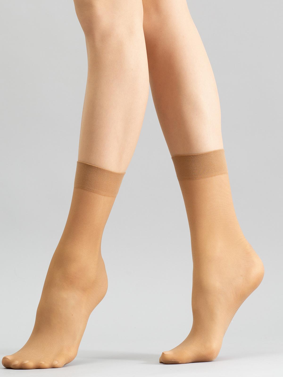 Носки женские Giulia EASY 20 бежевые one size