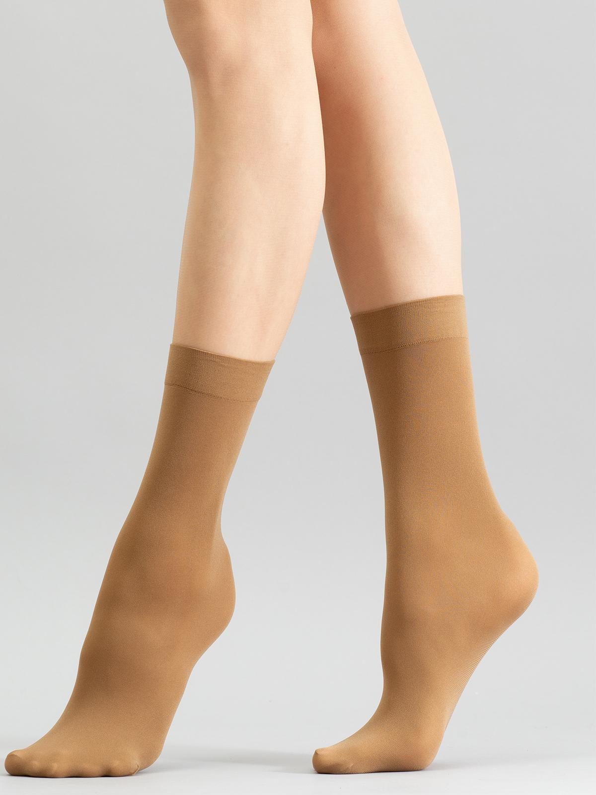 Носки женские Giulia BLUES 50 бежевые one size