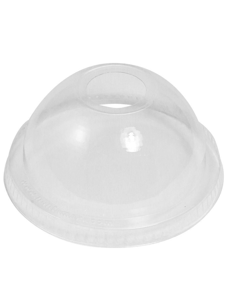 Крышка PAPSTAR купольная с отверстием для соломки