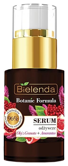 Сыворотка Bielenda Botanic Formula День/Ночь питательная масло граната + амарантус 15 мл