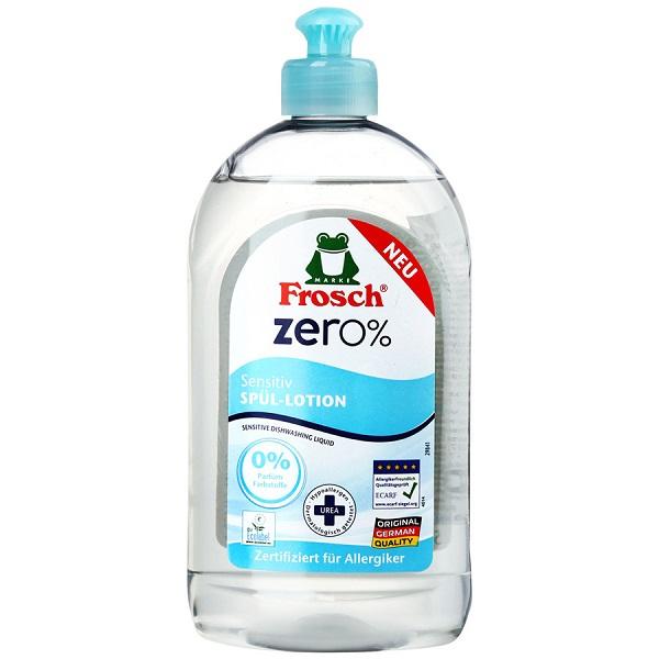 Бальзам для мытья посуды Frosch ZERO% Sensitive