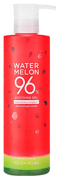 Купить Гель для лица и тела Holika Holika Water Melon 96% Soothing Gel с экстрактом арбуза 390 мл