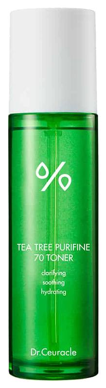 Тонер для лица успокаивающий, с чайным деревом,