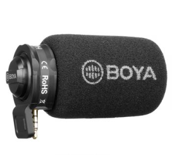 Микрофон Boya BY-A7H Black