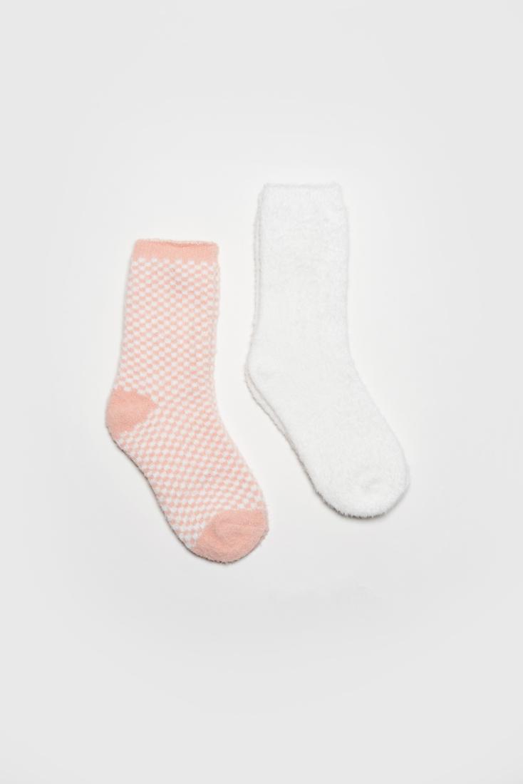 Набор носков женских Modis M202U00428V788P27 белых 25-27