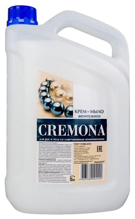 Купить Крем-мыло жидкое Аквалон Кремона. Жемчужное, 5 л
